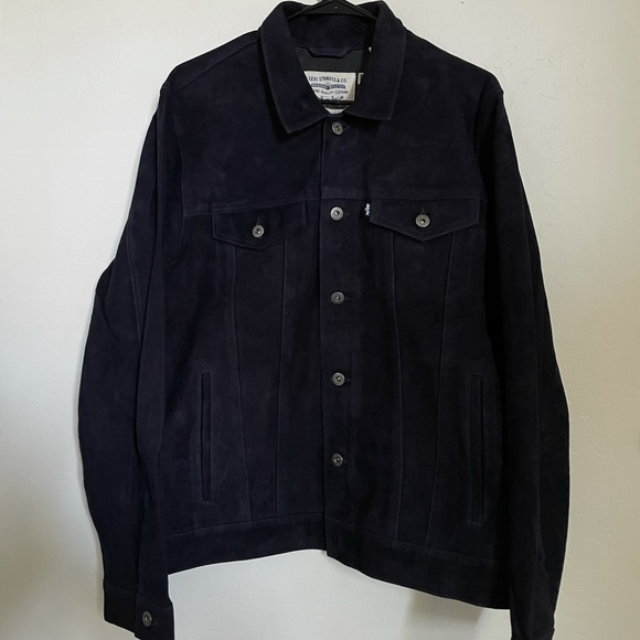 Levi's Made & Crafted Trucker Suede Jacket